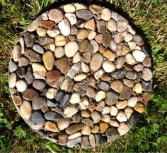 Custom stepping stones are easy to make with cement or concrete, molds and…