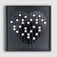 #morse by #fabio #masotti #contemporary #art #design #artdesign #decorazioneinterni #decorazioneparete #decor #heart #collection