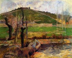 River Aven below moun Saint Marguerite by Paul Gauguin in oil on canvas, done in Now in Bridgestone Museum of Art. Find a fine art print of this Paul Gauguin painting. Paul Gauguin, Artist Canvas, Canvas Art, Canvas Prints, Art Prints, Large Canvas, Henri Matisse, Tahiti, Impressionist Artists