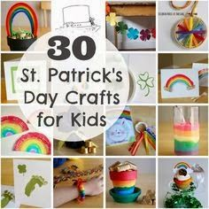 30 St. Patrick's Day Crafts for Kids
