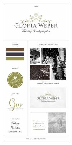 Branding Kit | Wedding Planner Logo | Photography Logo | Business Logo | Branding Package | Branding Kit Design | Business Branding