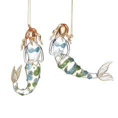 Mermaid Ornaments -