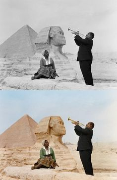 Memorable Black And White Historical Photos Digitally Coloured