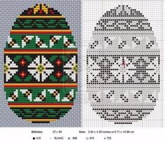 Happy Easter Everyone! This kind of pattern with bands representing the sights and sounds of spring (flowers, vines, birds, bees, frogs) is known as Calling Spring. And I thought if any year needed. Cross Stitching, Cross Stitch Embroidery, Embroidery Patterns, Hoppy Easter, Easter Eggs, Cross Stitch Charts, Cross Stitch Patterns, Easter Egg Pattern, Happy Easter Everyone