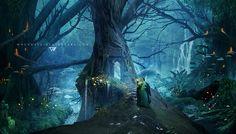 The Secret World by ©Whendell on deviantART (whendell.deviantart.com)