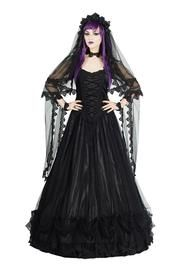 PRE-ORDER Veronica Black Gothic Dress by Sinister