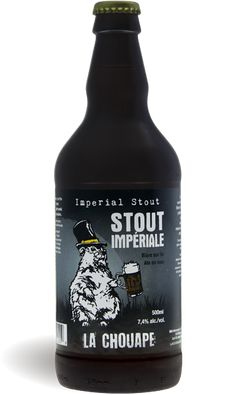 La chouape Imperial stout. Smooth with hints of coffee and chocolate damn good honest beer