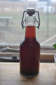 Cherry Vanilla Kombucha, great soda replacement.  www.picklemetoo.com