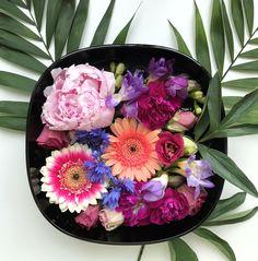 flower bowl with peony Flower Bowl, Peony, Acai Bowl, Magic, Flowers, Food, Acai Berry Bowl, Meal, Essen
