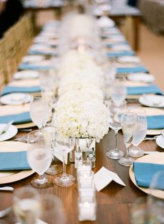 wedding centerpiece idea; photo: Arielle Doneson Photography