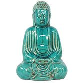 Found it at Wayfair - Sitting Ceramic Buddha Statue