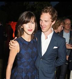 Benedict and Sophie at The Serpentine Gallery summer party - 2nd July 2015