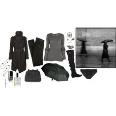 """I will die in paris on a rainy day"" by ghoulnextdoor on Polyvore"