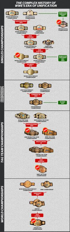All WWE's Unifications