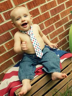 Baby Boy Tie -*