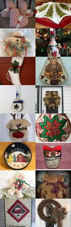 Have A Primitive Christmas - Holiday Decor and More Team by Marsha on Etsy--Pinned with TreasuryPin.com