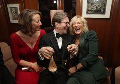 Janet McTeer, Gary Oldman, Glenn Close at the Oscars 2012