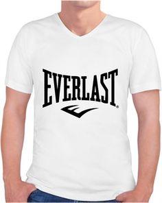 Everlast- erkek tişört Kendin Tasarla - Erkek V Yaka Tişört
