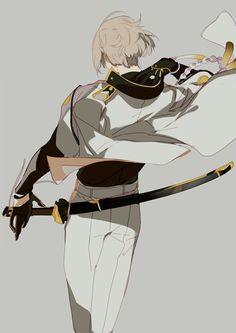 nineeeeeo on Boys Anime, Hot Anime Boy, Manga Boy, Anime Love, Manga Anime, Anime Art, Touken Ranbu, Character Inspiration, Character Art