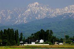 春の立山連峰 - Google 検索