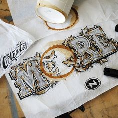 Lettering by Rob Draper
