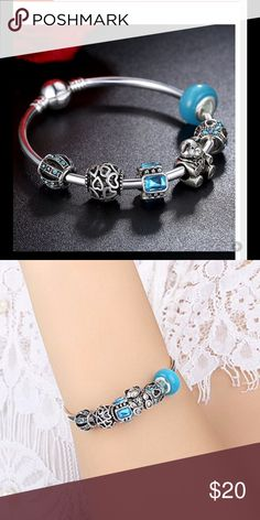 Fashion bracelet Silver Plated Charm Bracelet & Bangle with Murano Glass Beads Fit Original Charms Bracelet For Women Fine Jewelry Special Store Jewelry Bracelets