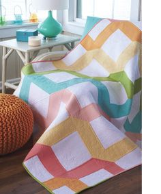Make It Modern Quilt kit - Click Image to Close