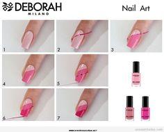Happy nail polish on your nails - Nail Art Model Trendy Nail Art, Nail Art Diy, Easy Nail Art, Happy Nails, Hair And Nails, My Nails, Diy Nails Tutorial, Nail Art Designs, Nagellack Trends