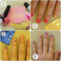 We tested Ciaté's Very Colourfoil Manicure - how easy is it to do foil nail art?
