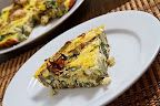 This looks so good! Artichoke and Spinach Frittata.