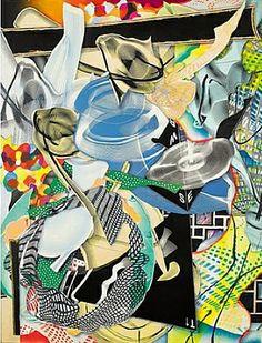 artnet Galleries: Die Marquise von O by Frank Stella from Galerie Wild