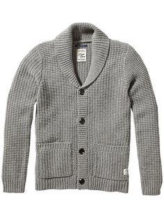 Strickjacke Home Alone chunky knitted cardigan    Dieser graue Strick-Cardigan ist eines unserer persönlichen Lieblingsstücke. Er ist warm und komfortabel, wann immer es draußen winterlich wird.    Material: 70% Wolle, 30% Acryl  Maße: Länge: 68 cm, Armlänge: 67 cm, Schulterweite: 40 cm ( Größe: M )  Obermaterial: 70% Wolle, 30% Acryl  Pflegehinweis: Handwäsche  material: 70% Wolle, 30% Acryl...