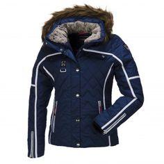 IcePeak, Ofra-I, Gewatteerde ski-jas, dames, donker blauw