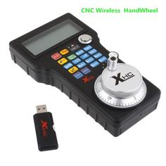 1884.00$  Watch here - http://alidkc.worldwells.pw/go.php?t=32510725510 - Mach3 USB MPG Pendant For Mach 3 4 Axis Engraving CNC Wireless Handwheel 1884.00$
