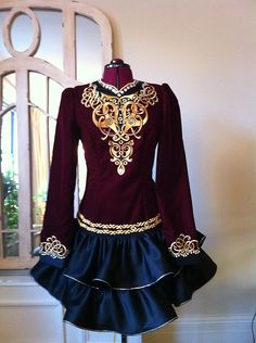 Craggane Designs Irish Dance Dresses | Forest and Henge Rj favorite of all the dresses that ahve gone by this weekend.