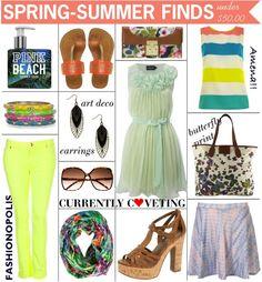 ::Spring-Summer Finds Under $50.00::  http://fashion-opolis.blogspot.com/