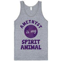 Amethyst Is My Spirit Animal (Steven Universe)