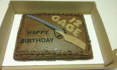 Shotgun cake