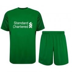 Liverpool 2017-18 Season Home Goalkeeper Kit