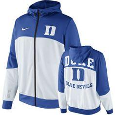 Duke Blue Devils Nike Hyper Elite 2013 On-Court Basketball Hooded Sweatshirt $74.99 http://www.fansedge.com/Duke-Blue-Devils-Hyper-Elite-2013-On-Court-Basketball-Hooded-Sweatshirt-_1497154596_PD.html?social=pinterest_pfid66-57384
