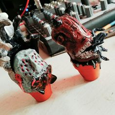 First two little horror monsters are ready! Horror Monsters, Shop
