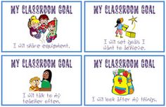 36 cards/posters about good behaviour and working habits, can be used for display or for students to select a personal goal