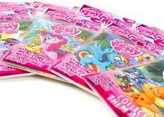 My Little Pony Micro-Fun Pack Set of 4 - Twilight Sparkle, AppleJack, Pinkie Pie, & Rainbow Dash by IDW Publishing