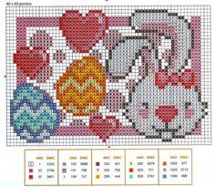 Easter perler bead pattern