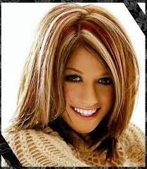 Mikal use to color my hair like this in the winter and this is the pic I showed her...love it:)