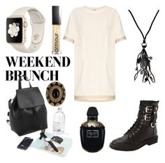 """""""Untitled #159"""" by lepuzzle on Polyvore featuring Giuseppe Zanotti, Armour, Acne Studios, NAKAMOL, Alexander McQueen and House of Harlow 1960"""