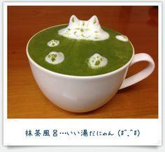 珈琲の魅力:3D抹茶ラテ