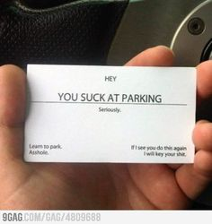 I am surprised I haven't found any of these on my car yet.
