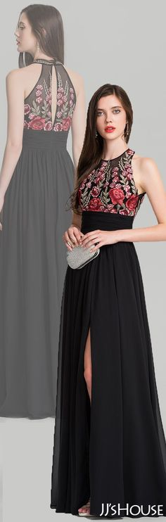 Beautiful pattern and perfect evening dress! #JJsHouse #Evening