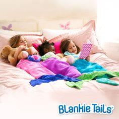 Kids Mermaid Blanket by Blankie Tails® - Assorted Colors